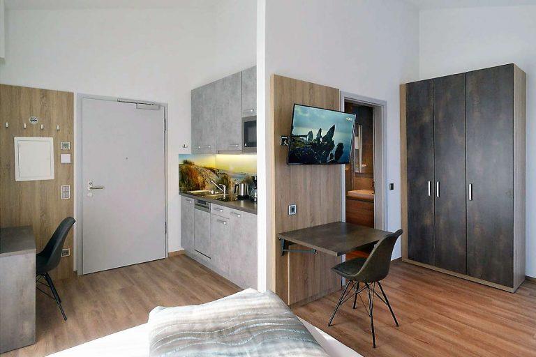 Penthouse - Wohnraum