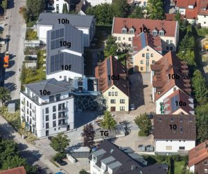 Luftbildaufnahme Boardinghaus